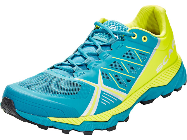 Scarpa Spin RS Shoes Men blue bay/spring green
